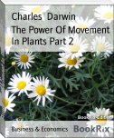 The Power Of Movement In Plants Part 2