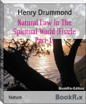 Natural Law In The Spiritual World (Fiscle Part-X)