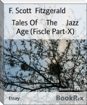 Tales Of     The     Jazz Age (Fiscle Part-X)