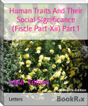 Human Traits And Their Social Significance (Fiscle Part-Xii) Part 1