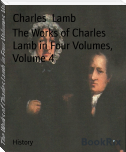 The Works of Charles Lamb in Four Volumes, Volume 4