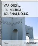 EDINBURGH JOURNAL,NO.442