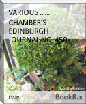 CHAMBER'S EDINBURGH JOURNAL,NO. 450