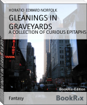 GLEANINGS IN GRAVEYARDS