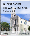 THE WORLD FOR SALE, VOLUME III