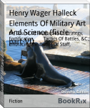 Elements Of Military Art And Science (fiscle part-VI)