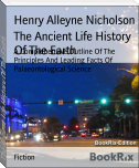 The Ancient Life History Of The Earth