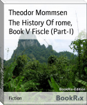 The History Of rome, Book V Fiscle (Part-I)