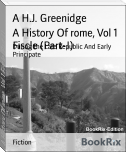 A History Of rome, Vol 1 Fiscle (Part-I)