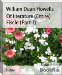 Of literature (Entire) Fiscle (Part-I)