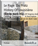 History Of Louisisana (fiscle part-VI)