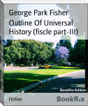 Outline Of Universal History (fiscle part-III)
