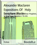 Expositions Of   Holy Scripture (fiscle part-XIV)
