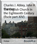 The English Church In the Eighteenth Century (fiscle part-XIV)