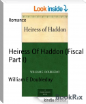 Heiress Of Haddon (Fiscal Part I)