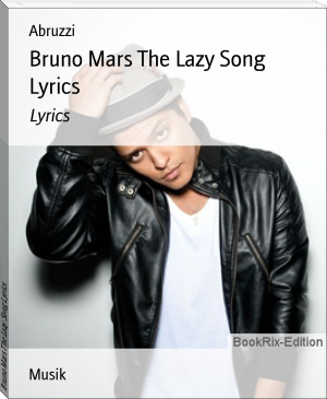 Bruno Mars The Lazy Song Lyrics