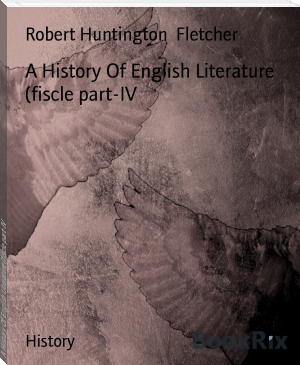 A History Of English Literature (fiscle part-IV
