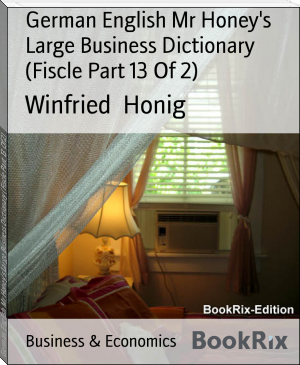 German English Mr Honey's Large Business Dictionary (Fiscle Part 13 Of 2)