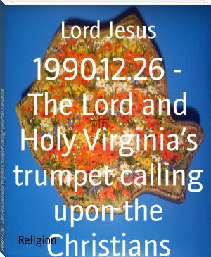 1990.12.26 - The Lord and Holy Virginia's trumpet calling upon the Christians