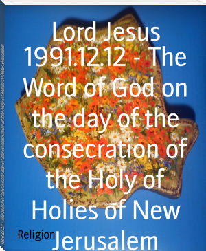 1991.12.12 - The Word of God on the day of the consecration of the Holy of Holies of New Jerusalem