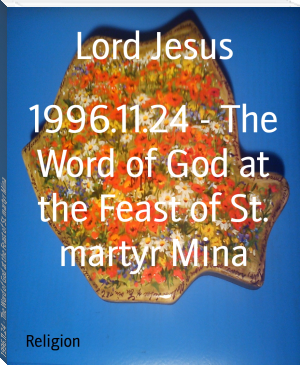 1996.11.24 - The Word of God at the Feast of St. martyr Mina