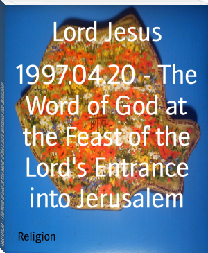 1997.04.20 - The Word of God at the Feast of the Lord's Entrance into Jerusalem