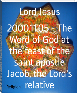 2000.11.05 - The Word of God at the feast of the saint apostle Jacob, the Lord's relative
