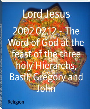 2002.02.12 - The Word of God at the feast of the three holy Hierarchs, Basil, Gregory and John