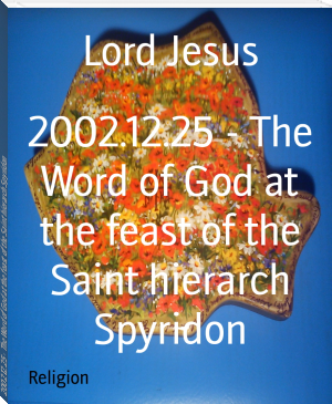 2002.12.25 - The Word of God at the feast of the Saint hierarch Spyridon