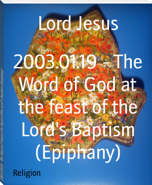 2003.01.19 - The Word of God at the feast of the Lord's Baptism (Epiphany)