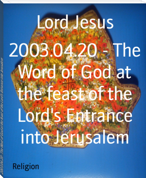 2003.04.20 - The Word of God at the feast of the Lord's Entrance into Jerusalem