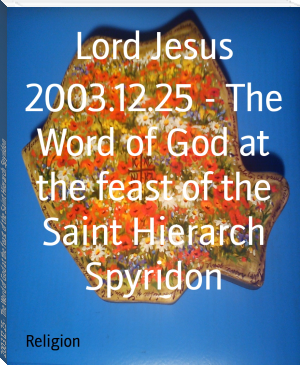 2003.12.25 - The Word of God at the feast of the Saint Hierarch Spyridon