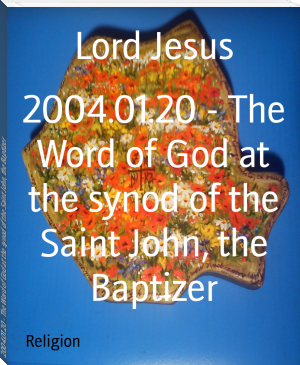 2004.01.20 - The Word of God at the synod of the Saint John, the Baptizer