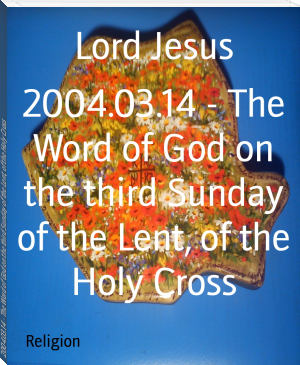 2004.03.14 - The Word of God on the third Sunday of the Lent, of the Holy Cross
