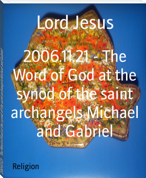 2006.11.21 - The Word of God at the synod of the saint archangels Michael and Gabriel