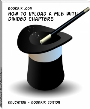 How to Upload a File with Divided Chapters