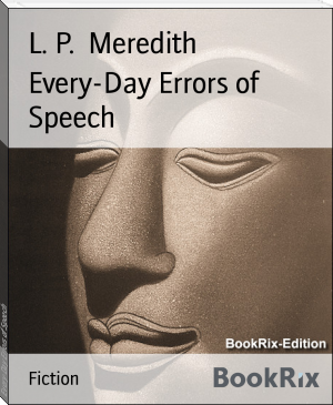 Every-Day Errors of Speech