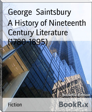 A History of Nineteenth Century Literature (1780-1895)