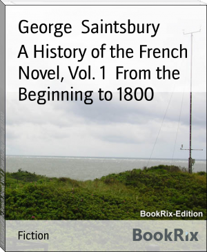A History of the French Novel, Vol. 1  From the Beginning to 1800