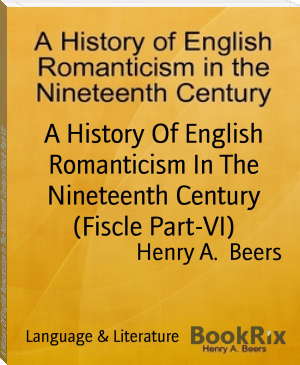A History Of English Romanticism In The Nineteenth Century (Fiscle Part-VI)
