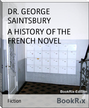 A HISTORY OF THE FRENCH NOVEL