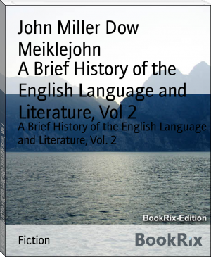 A Brief History of the English Language and Literature, Vol 2