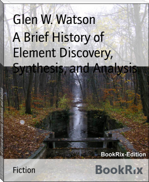 A Brief History of Element Discovery, Synthesis, and Analysis