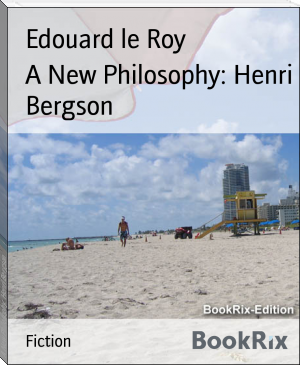 A New Philosophy: Henri Bergson