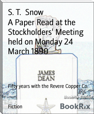 A Paper Read at the Stockholders' Meeting held on Monday 24 March 1890