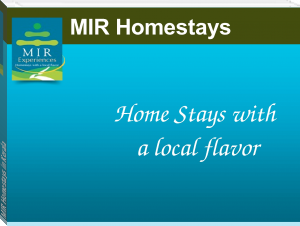 MIR Homestays in Kerala