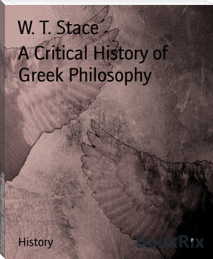 A Critical History of Greek Philosophy