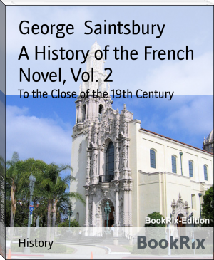 A History of the French Novel, Vol. 2