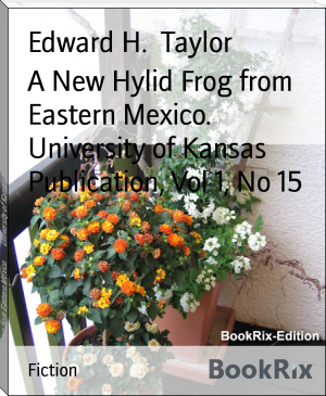 A New Hylid Frog from Eastern Mexico.        University of Kansas Publication, Vol 1, No 15
