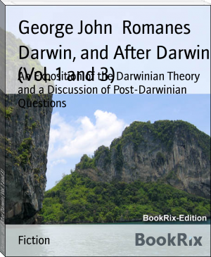 Darwin, and After Darwin (Vol. 1 and 3)